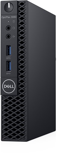 DELL OptiPlex 3060 3.1GHz Mini PC Zwart Mini PC-2