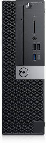 DELL OptiPlex 7060 3GHz i5-8500 SFF Zwart PC
