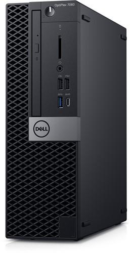 DELL OptiPlex 7060 3.2GHz i7-8700 SFF Zwart PC