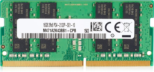 HP 16GB DDR4-2666 SODIMM 16GB DDR4 2666MHz geheugenmodule