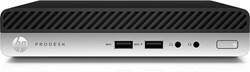 HP ProDesk 400 G4 Mini 3.1GHz i3-8100T Desktop Zwart, Zilver Mini PC