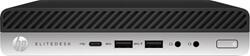 HP EliteDesk 800 65W G4 Mini 3GHz i5-8500 Desktop Zwart, Zilver Mini PC