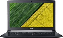 """Acer Aspire A517-51-363X 2.3GHz i3-7020U 17.3"""" 1600 x 900Pixels Zwart Notebook"""