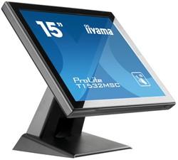 "iiyama ProLite T1532MSC-B5X 15"" 1024 x 768Pixels Multi-touch Zwart touch screen-monitor"