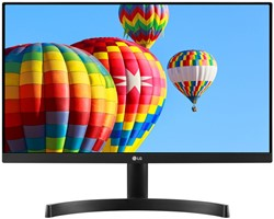 "LG 24MK600M-B 23.8"" Full HD LED Mat Flat Zwart computer monitor LED display"