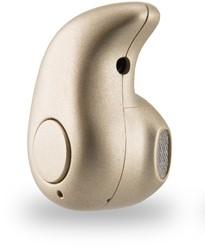 Sinji Mono Bluetooth mobiele hoofdtelefoon Monauraal oorhaak Goud Draadloos