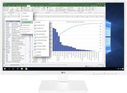 "LG 24BK550Y-W computer monitor 60,5 cm (23.8"") Full HD LCD Flat Wit"