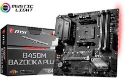 MSI B450M BAZOOKA PLUS Socket AM4 AMD B450 micro ATX