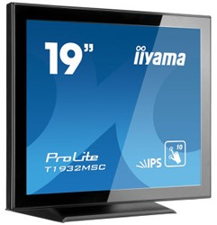 "iiyama ProLite T1932MSC-B5X 19"" 1280 x 1024Pixels Multi-touch Tafelblad Zwart touch screen-monitor"