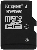 Kingston Technology 32GB microSDHC 32GB MicroSDHC flashgeheugen