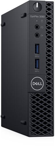 DELL OptiPlex 3060 3,10 GHz Intel® 8ste generatie Core™ i3 i3-8100T Zwart Mini PC