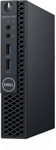 DELL OptiPlex 3060 3,10 GHz Intel® 8ste generatie Core™ i3 i3-8100T Zwart Mini PC-2