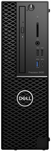 DELL Precision 3430 3,2 GHz Intel® 8ste generatie Core™ i7 i7-8700 Zwart SFF Workstation