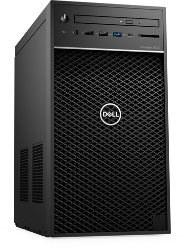 DELL Precision 3630 3,2 GHz Intel® 8ste generatie Core™ i7 i7-8700 Zwart Toren Workstation