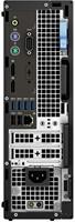 DELL Precision 3430 3,4 GHz Intel® Xeon® E-2124G Zwart SFF Workstation