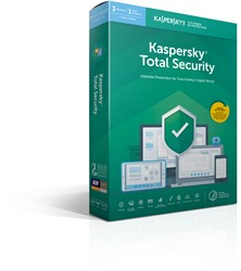 Kaspersky Lab Total Security 2019 Nederlands, Frans Base license 3licentie(s) 1jaar