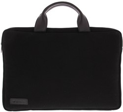 "BOND 15""-15.6"" sleeve/tas canvas zwart"