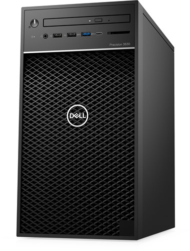 DELL Precision 3630 3,7 GHz Intel® 8ste generatie Core™ i7 i7-8700K Zwart Toren Workstation-2