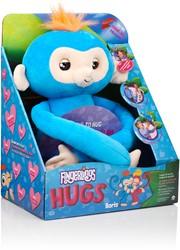 WowWee Fingerlings HUGS - BORIS - Interactieve aap knuffel - 40 cm