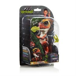 WowWee Fingerlings Untamed Baby Raptor Blaze - oranje dino interactief speelgoed