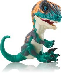 WowWee Fingerlings Untamed Baby Raptor Fury - blauwe dino interactief speelgoed