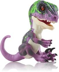 WowWee Fingerlings Untamed Baby Raptor Razor - paarse dino interactief speelgoed