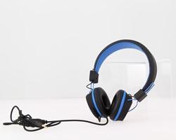 Kurio C18910GI koptelefoon Supraaural Hoofdband Zwart, Blauw