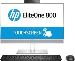 """HP EliteOne 800 G4 60,5 cm (23.8"""") 1920 x 1080 Pixels Touchscreen 3 GHz Intel® 8ste generatie Core™ i5 i5-8500 Zilver Alles-in-één-pc"""