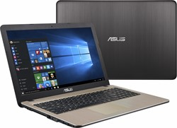 "ASUS F540LA-DM1201T Zwart, Chocolade Notebook 39,6 cm (15.6"") 1920 x 1080 Pixels 2 GHz Vijfde generatie Intel® Core™ i3 i3-5005U"