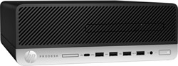 HP ProDesk 600 G4 3 GHz Intel® 8ste generatie Core™ i5 i5-8500 Zwart SFF PC