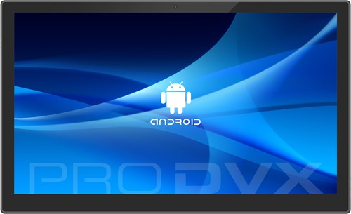 "ProDVX APPC-17EL 43,9 cm (17.3"") 1920 x 1080 Pixels Touchscreen 1,6 GHz Rockchip RK3288 Zwart All-in-One tablet PC"