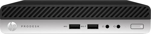 HP ProDesk 405 G4 AMD Ryzen 3 PRO 2200GE 8 GB DDR4-SDRAM 128 GB SSD Zwart, Zilver Mini PC