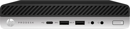 HP ProDesk 600 G5 9th gen Intel® Core™ i5 i5-9500T 8 GB DDR4-SDRAM 256 GB SSD Zwart, Zilver Mini PC
