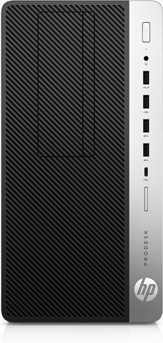 HP ProDesk 600 G5 9th gen Intel® Core™ i5 i5-9500 8 GB DDR4-SDRAM 256 GB SSD Zwart Micro Tower PC