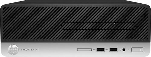 HP ProDesk 400 G6 Intel Core i3-9xxx i3-9100 8 GB DDR4-SDRAM 256 GB SSD Zwart, Zilver SFF PC