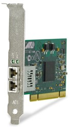 Allied Telesis 32bit PCI Gigabit Fiber Adapter Card 1000Mbit/s