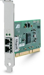 Allied Telesis 1000SX (LC) desktop fiber Gigabit Network Interface Card (PCI-X) 1000Mbit/s