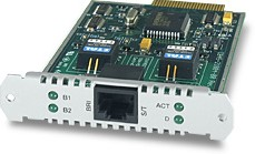Allied Telesis 1-Port (S) Basic Rate ISDN PIC interfacekaart/-adapter