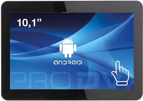 "ProDVX APPC-10X 25,6 cm (10.1"") 1280 x 800 Pixels Touchscreen Rockchip 2 GB DDR3-SDRAM 16 GB Flash Zwart All-in-One tablet PC"