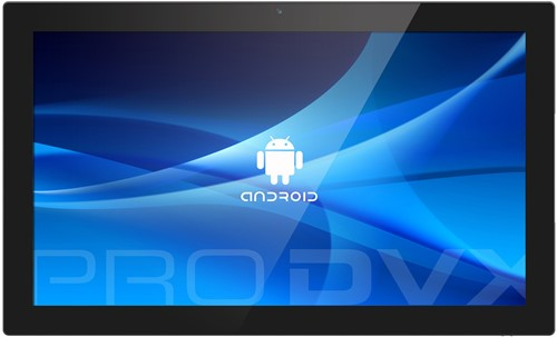 "ProDVX APPC-22X 54,6 cm (21.5"") 1920 x 1080 Pixels Touchscreen Rockchip 2 GB DDR3-SDRAM 16 GB Flash Zwart All-in-One tablet PC"