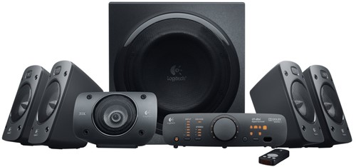 Logitech Z906 5.1kanalen 500W Zwart luidspreker set