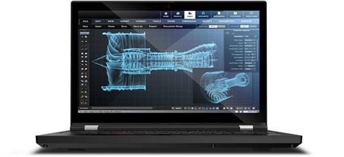"""Lenovo ThinkPad P15 Mobiel werkstation Zwart 39,6 cm (15.6"""") 1920 x 1080 Pixels Intel® 10de generatie Core™ i7 32 GB DDR4-SDRAM 512 GB SSD NVIDIA Quadro T2000 Wi-Fi 6 (802.11ax) Windows 10 Pro"""