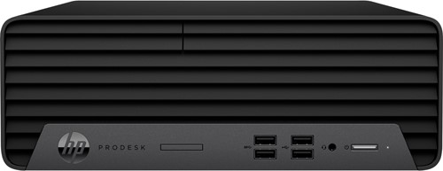 HP ProDesk 400 G7 Intel® 10de generatie Core™ i3 i3-10100 8 GB DDR4-SDRAM 256 GB SSD SFF Zwart PC Windows 10 Pro
