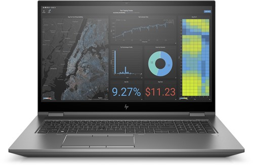 HP ZBook Fury 17 G7 | Intel Core i7-10850H 17,3 FHD SURE VIEW 2C9T6EA