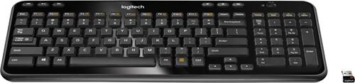 Logitech K360 RF Draadloos QWERTY Nederlands Zwart toetsenbord