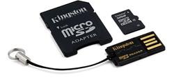 Kingston Technology 32GB Multi Kit 32GB MicroSDHC Flash flashgeheugen