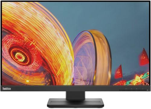 "Lenovo ThinkVision E24q-20 60,5 cm (23.8"") 2560 x 1440 Pixels Quad HD LED Zwart"
