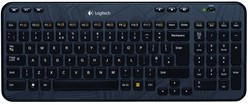 Logitech K360 RF Draadloos QWERTZ Zwitsers Zwart toetsenbord