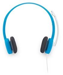 Logitech H150 Stereofonisch Hoofdband Blauw hoofdtelefoon