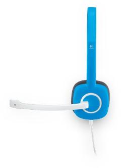 Logitech H150 Stereofonisch Hoofdband Blauw hoofdtelefoon-3